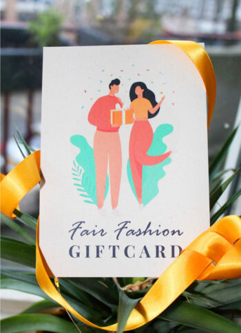 Fysieke Fair Fashion Giftcard